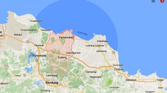 Subang utara diguncang gempa soeararakjat