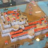 Fort Zeelandia model in Tainan, Taiwan in Tainan, T'ai-nan, Taiwan