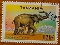timbre Tanzanie 001