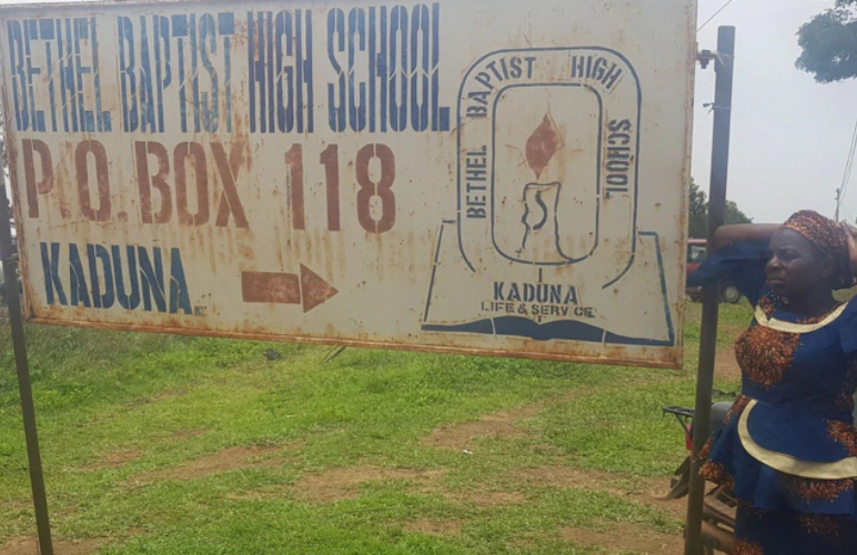 Kidnappers of Bethel Baptist High School students demand foodstuff from the school to feed the 121 kids held hostage