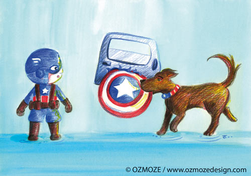 Heroes and their Dog (Captain America, Série)