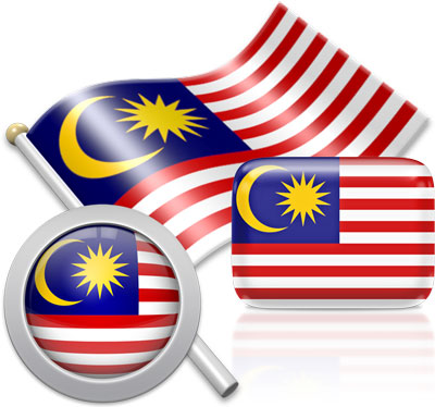 Malaysian flag icons pictures collection