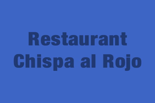 Restaurant Chispa al Rojo es Partner de la Alianza Tarjeta al 10% Efectiva