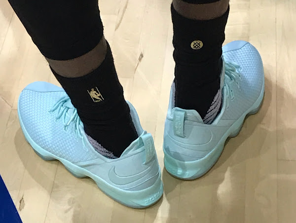King James Introduces 2x Nike LeBron 14 Low in Practice