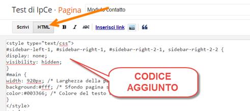 personalizzare-pagina-statica