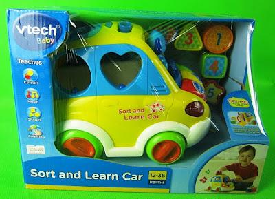 Hình ảnh hộp đồ chơi Xe ô tô thả khối Vtech Sort and Learn Car
