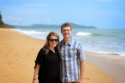 Lauren and me at Mi Khao Beach