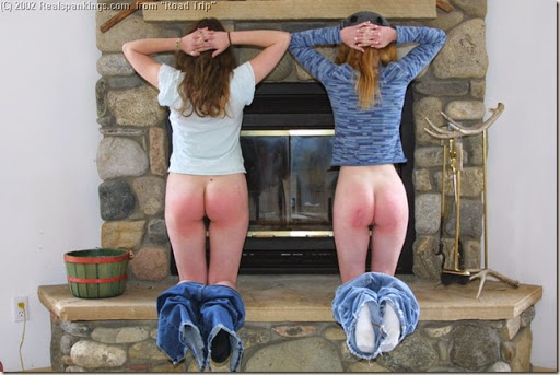 bottoms 2 at fireplace
