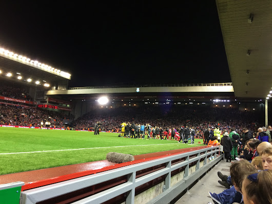 Tuesday night in Anfield