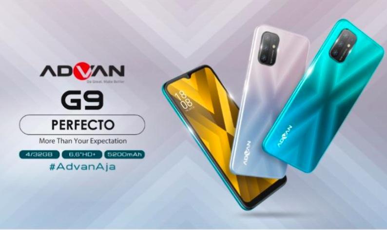 Harga dan Spesifikasi Advan G9 Perfecto RAM 4GB ROM 32GB Terbaru di Indonesia