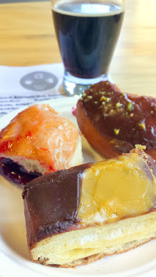 Bakers Dozen Coffee Beer & Doughnuts festival (coffee beer and local donuts from all over PDX) at Culmination Brewing
