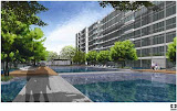 Ferraria Park Condo Sinagpore pool area, Christopher Po, Tierra Design Singapore