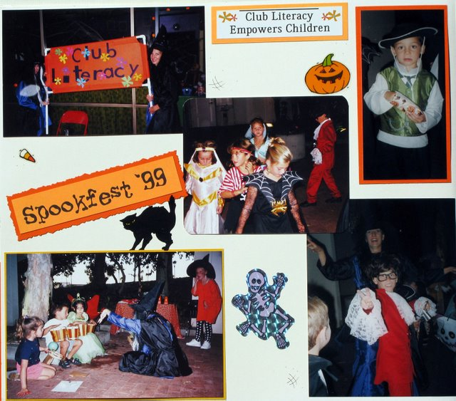 Festival of Fun: Spookfest 99, a halloween storytelling party.