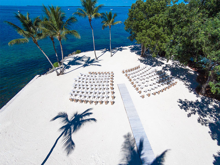 Destination weddings in Florida | Romantic Florida beach wedding location