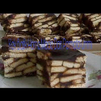 Kek Batik Home Made Yang Patut Anda Cuba