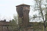 """2006 - torre del castello, vista dal """"prato del castello"""", verso il ponte"""