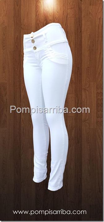 Jeans Levanta pompis Blanco