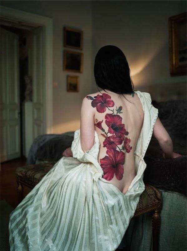 magnfica_peça_de_volta_flor_tatuagens