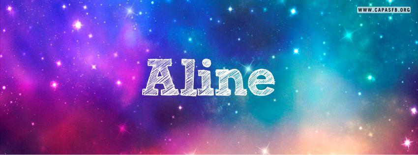 Capas para Facebook Aline