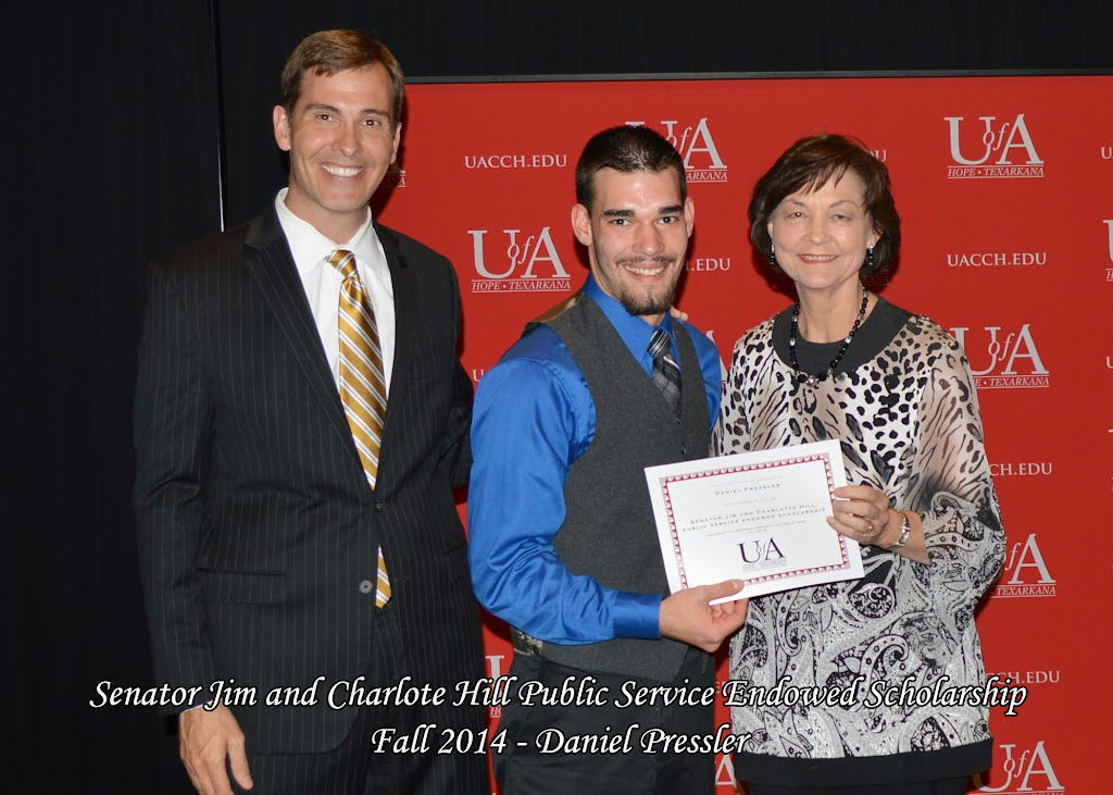 Scholarship Awards Ceremony Fall 2014 - Daniel%2BPressler.jpg