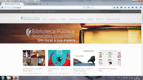 Biblioteca Municipal de Lamego abre-se ao mundo com novo site