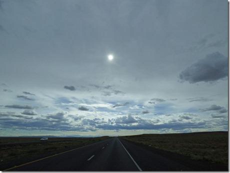 I-40 headed to Winslow Arizona
