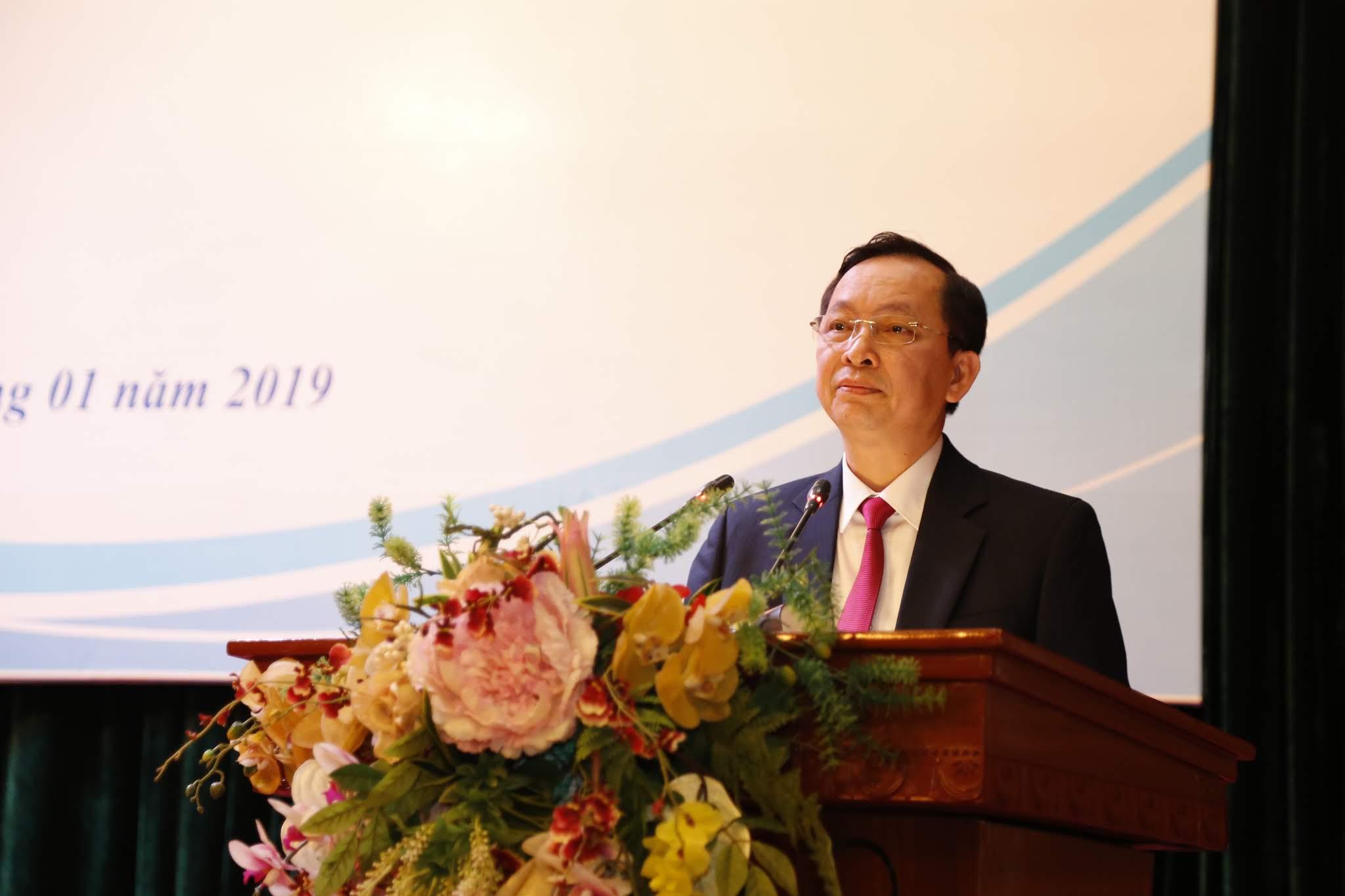 Phó Thống đốc NHNN Đào Minh Tú phát biểu chỉ đạo tại Hội nghị