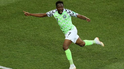 Ahmed Musa Pemain Nigeria