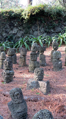 Small little stone guardians