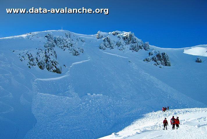Avalanche Cordillère Cantabrique, secteur Pico Agujas - Photo 1