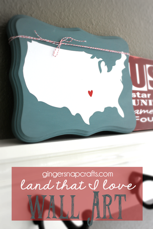 OTBM Land That I Love Wall Art by GingerSnapCrafts.com_thumb