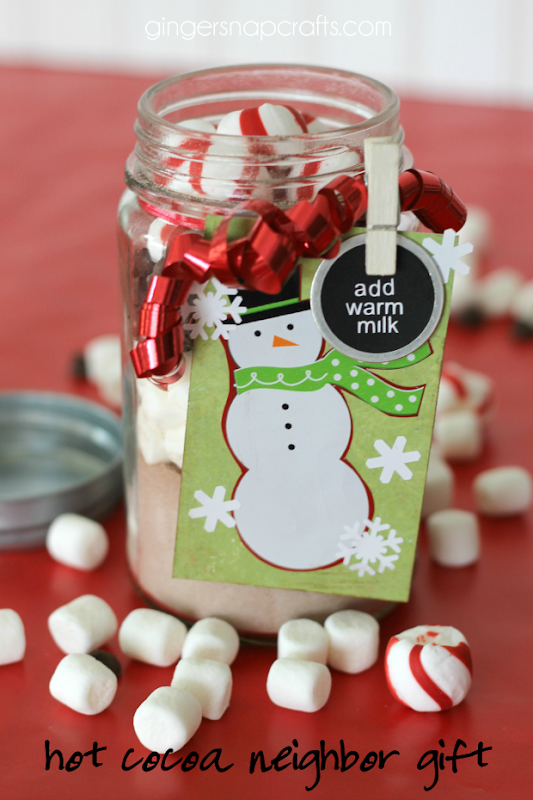 hot cocoa neighbor gift at GingerSnapCrafts.com