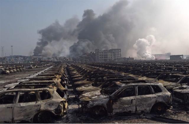 CHINA: LA ENORME EXPLOSION DE TIANJIN, UN NUEVO ATAQUE DE BANDERA FALSA