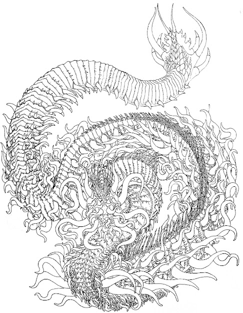 Best 15 Hard Coloring Pages Of Dragons Free