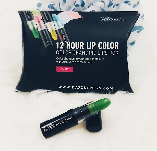 [Review] Fran Wilson MOODmatcher 12 Hour Lip Color in Green