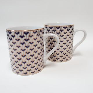 Tiffany & Co. Manhattan Blue Cups