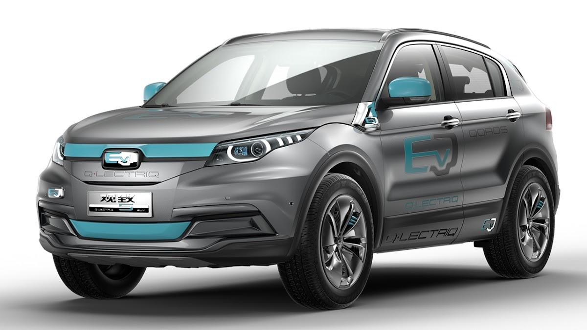 5 Q•LECTRIQ SUV Concept