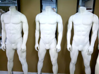 MALE AND FEMALE  MANNEQUINS FULL LENGTH