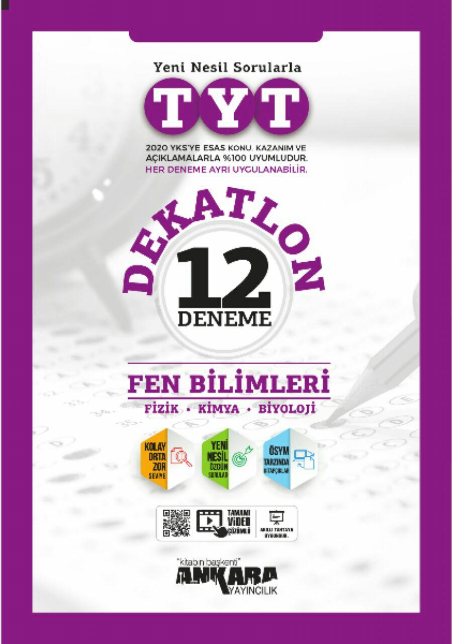 Ankara Yayıncılık TYT Dekatlon Fen Bilimleri 12 Deneme