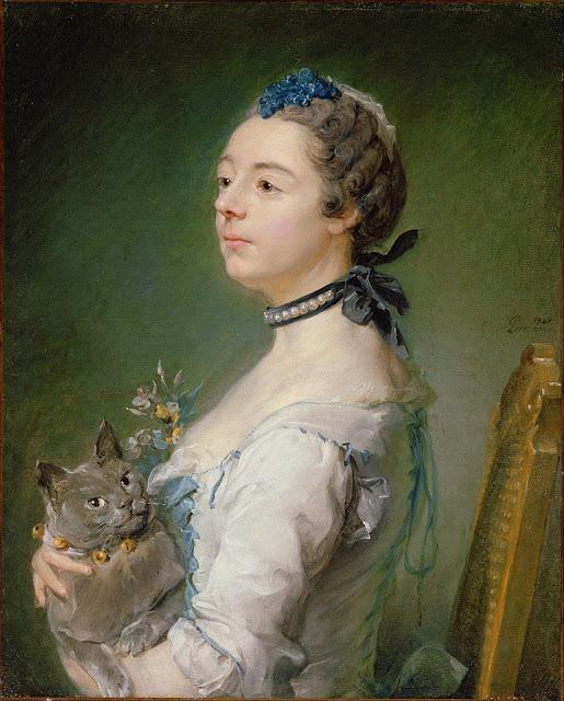 Jean-Baptiste Perronneau - Magdaleine Pinceloup de la Grange, née de Parseval - Google Art Project