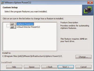 Descarga e instalación de VMware vSphere PowerCLI y VIX API
