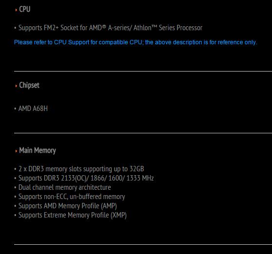 Mainboard MSI A68HM-E33, thay thế và tiên tiến hơn chipset AMD A58 - 75391