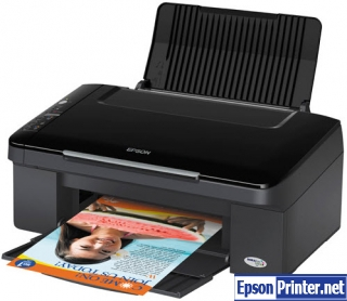 Reset Epson TX130 lazer printer by application