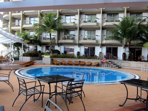 Pool at the Sofitel hotel in Rio de Janeiro Brazil