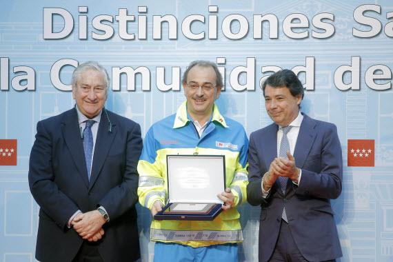 Distinciones Sanitarias 2013 de la Comunidad de Madrid