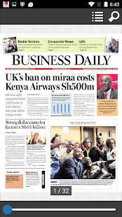 Business Daily epaper App- screenshot thumbnail