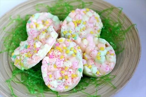 Easter Marshmallow Bark Recipe