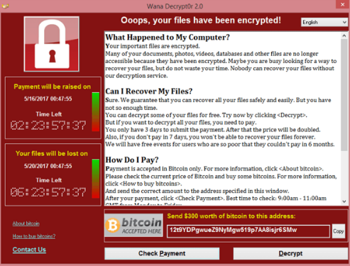 WannaCry Ransomware attack was a bitcoin publicity stunt by NSA