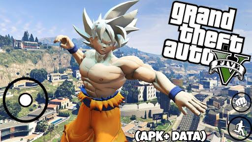 SAIUU! NOVO GTA SAN (MODPACK) DRAGON BALL SUPER (300Mb) BETA V1 PARA ANDROID APK+DATA