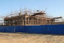 Temple Yaowangmiao : chantier du futur temple